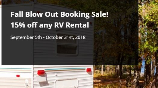 RV Rental Sale